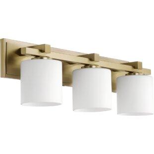 Modern antique brass vanity lighting allmodern save aloadofball Choice Image