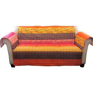 Somerton Box Cushion Sofa Slipcover by World..