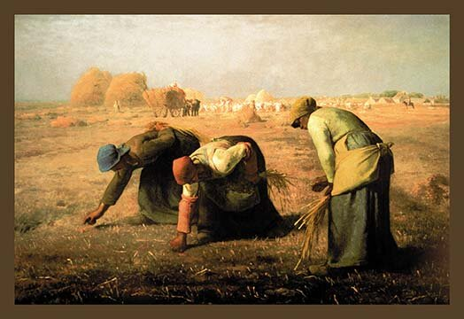 Buyenlarge The Gleaners By Jean Francois Millet Painting