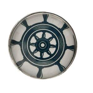 Boat Steering Wheel Helm Glass Mushroom Knob