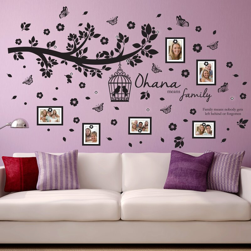 Ohana Family Tree Wall Decal