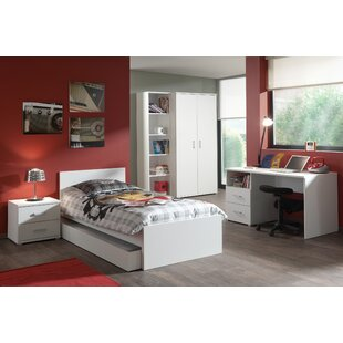Milan 5 Piece Bedroom Set by Vipack
