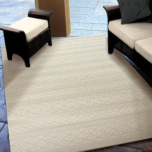 Acton Ivory Indoor Outdoor Area Rug