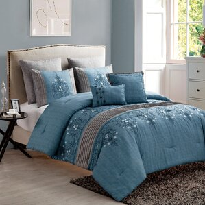 Blue Bedding Navy Bedding Sets Youll Love Wayfair - Blue bedding and comforter sets