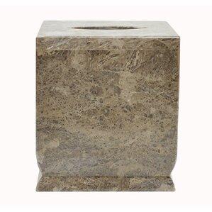 polished marble kamila tissue box cover