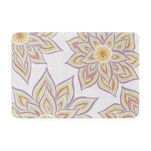 Pom Graphic Design Floral Rhythm Memory Foam Bath Rug