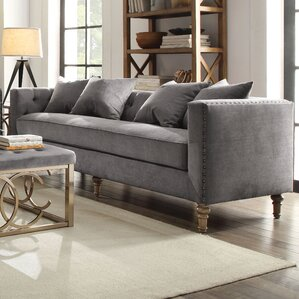 Sidonia Chesterfield Sofa by ACME Furniture