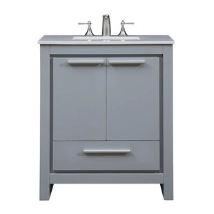 Easterling 30 Single Bathroom Vanity Set