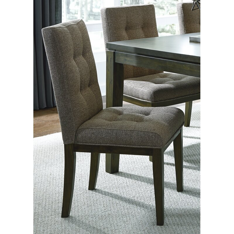 406745a5c084 Darius Upholstered Side Dining Chair   Reviews