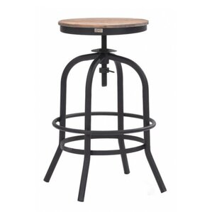 Bridget Adjustable Swivel Bar Stool