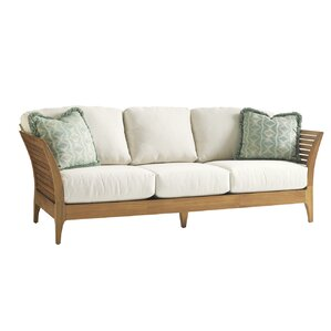 Perfect Tres Chic Patio Sofa With Cushions