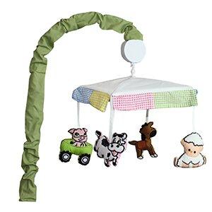 Babyfad Barnyard Farm Baby 10 Piece Crib Bedding Set