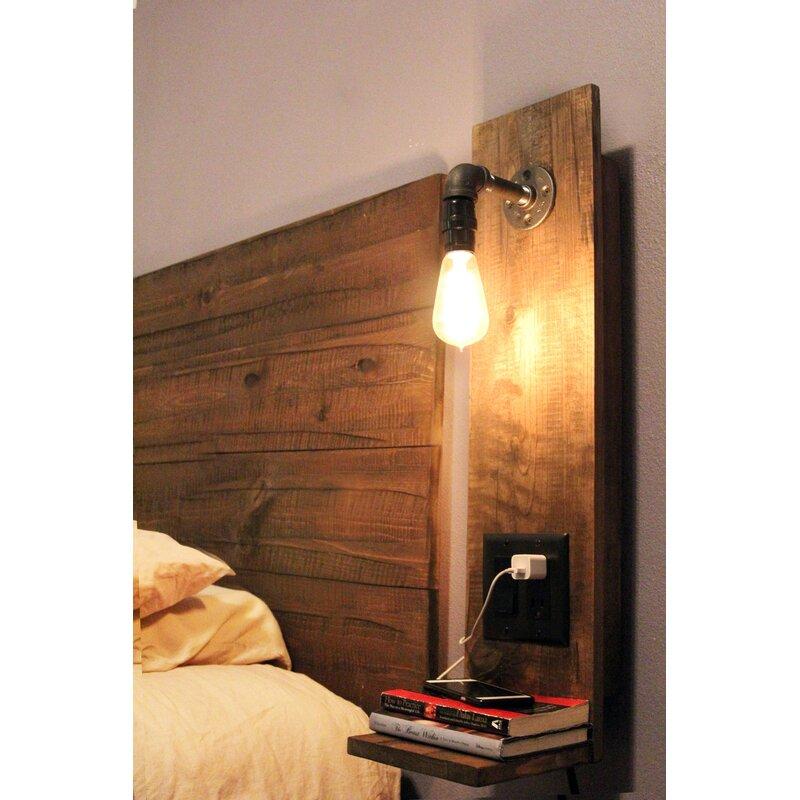 Midwood Designs Rustic Floating Nightstand Amp Reviews Wayfair