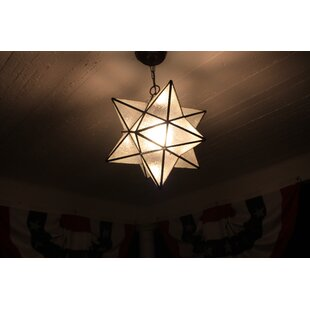 Moravian star pendant wayfair moravian star 1 light mini pendant aloadofball Choice Image