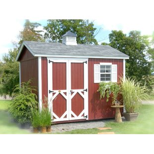 Classic Wooden Storage Shed