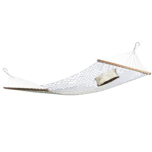 Jonell 2 Person Rope Cotton Camping Hammock