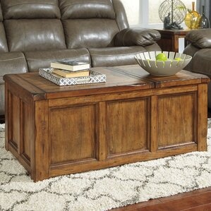 Clayton Coffee Table with Lift Top by Loon Peak