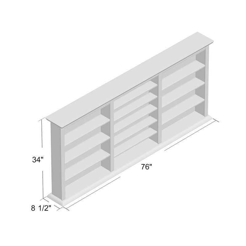 Ordinaire Triple Wall Mounted Storage Rack