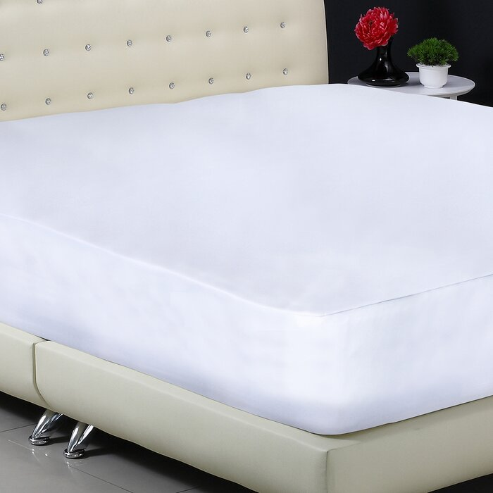 fitted mattress protector. Basic Fitted Hypoallergenic Waterproof Mattress Protector M