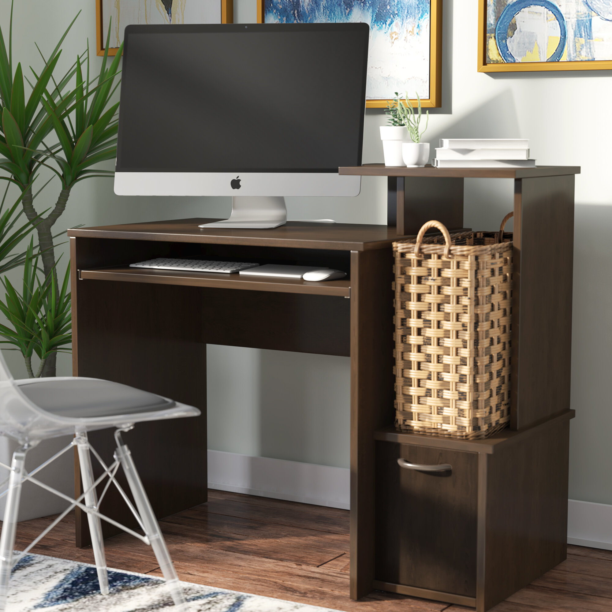 Surprising Axess Computer Desk Wayfair Ca Complete Home Design Collection Papxelindsey Bellcom