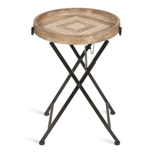Round Metal Tray Table Wayfair