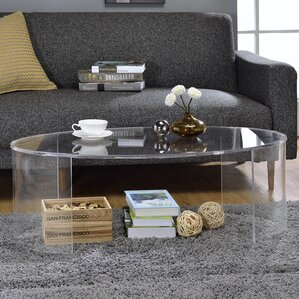 Chartier Oval Coffee Table by Orren Ellis