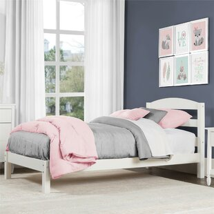 Girls White Twin Bed | Wayfair