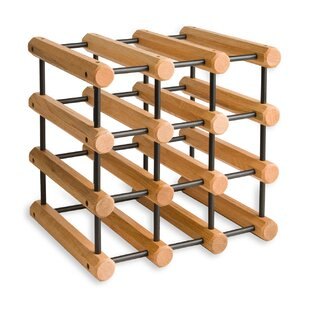 Sollars 12 Bottle Tabletop Wine Rack