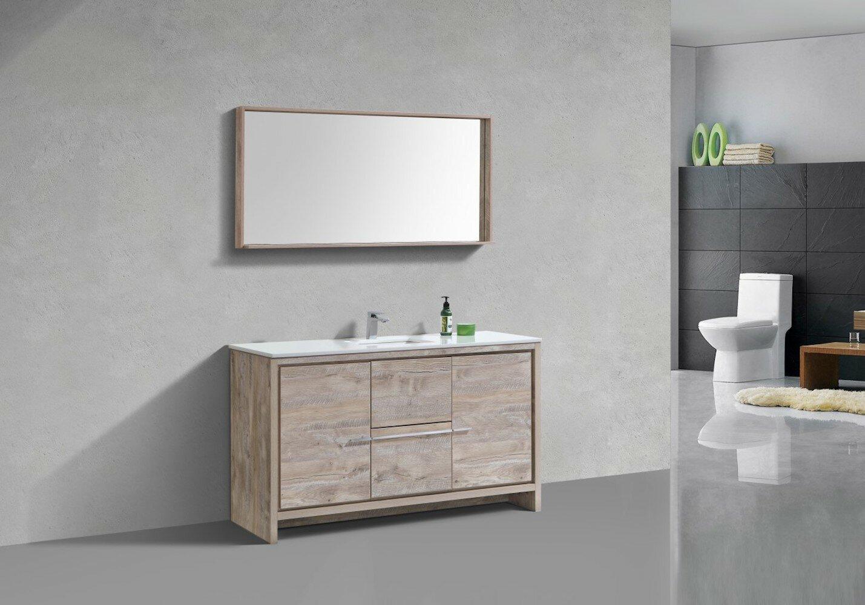 Meubles-lavabos 48 po: Ton du bois - Bois blanc | Wayfair.ca