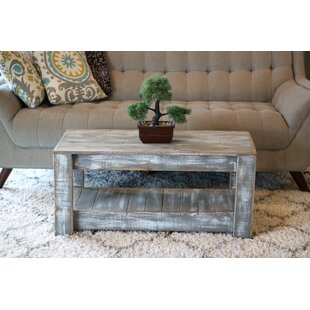 Distressed Gray Coffee Table.Weathered Grey Coffee Table Wayfair
