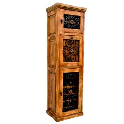 16 Bottle Floor Wine Cabinet Artesano Home Decor