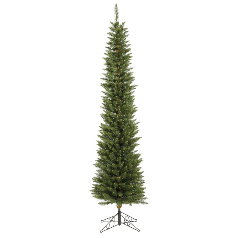 Durham Pole Pine 8.5' Green Artificial Christmas Tree with Stand