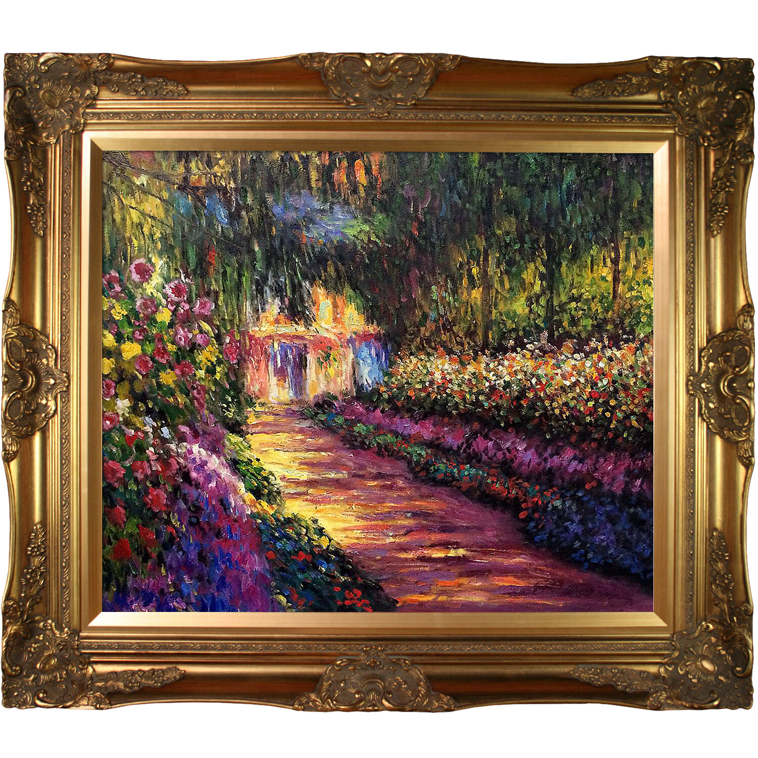 Fleur De Lis Living \'Pathway in Monet\'s Garden at Giverny\' by Claude ...