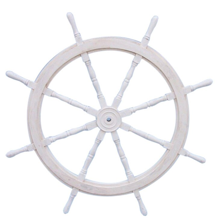 Pirate Ship Steering Wheel Wall Décor