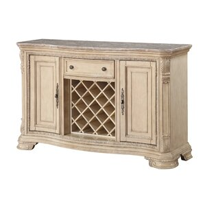 Esplanade Kitchen Island with Marble Top by Astoria Grand