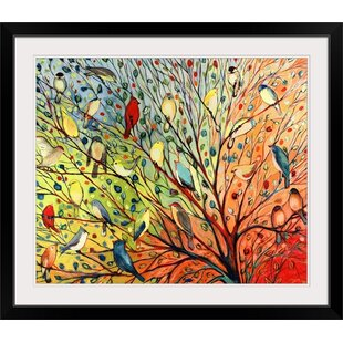Twenty Seven Birds Jennifer Lommers Graphic Art Print
