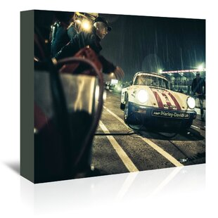 Harley Davidson Photographic Print On Wrapped Canvas
