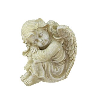 Heavenly Gardens Resting Cherub Angel Outdoor Patio Garden Statue