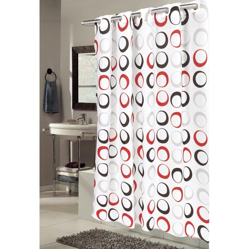 Ebern Designs Netherton Circle Shower Curtain & Reviews | Wayfair
