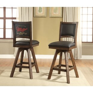 Miller High Life 30 Swivel Bar Stool (Set of 2)