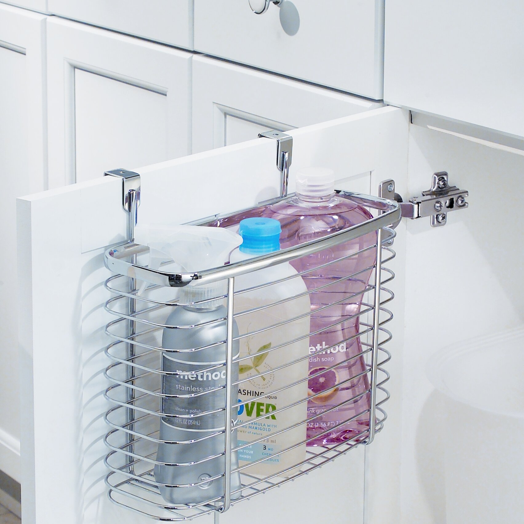 Bathroom cabinet door organizer - Axis Cabinet Door Organizer