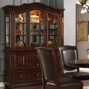 Perine Lighted China Cabinet