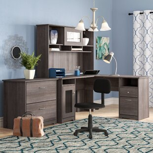Hillsdale 3 Piece L Shape Desk Office Suite