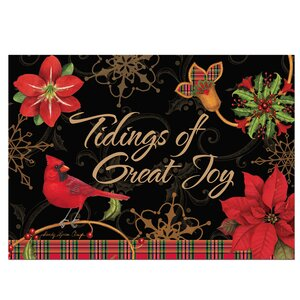 Sandy Clough Tiding of Great Joy - Christmas Card