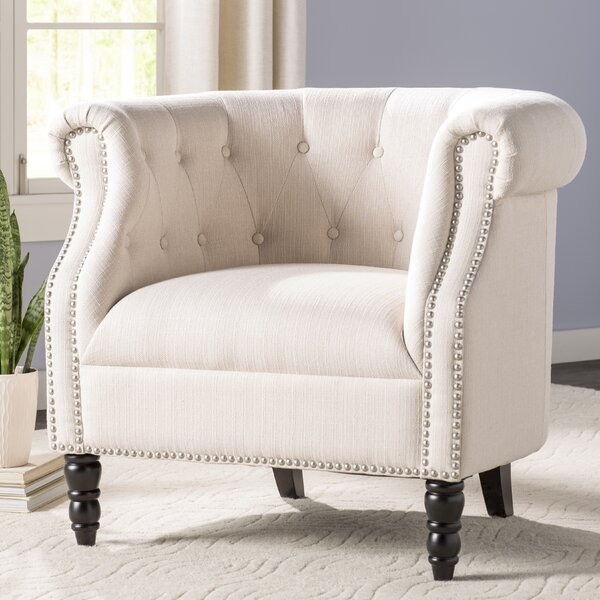 Three Posts Huntingdon Chesterfield Chair & Reviews