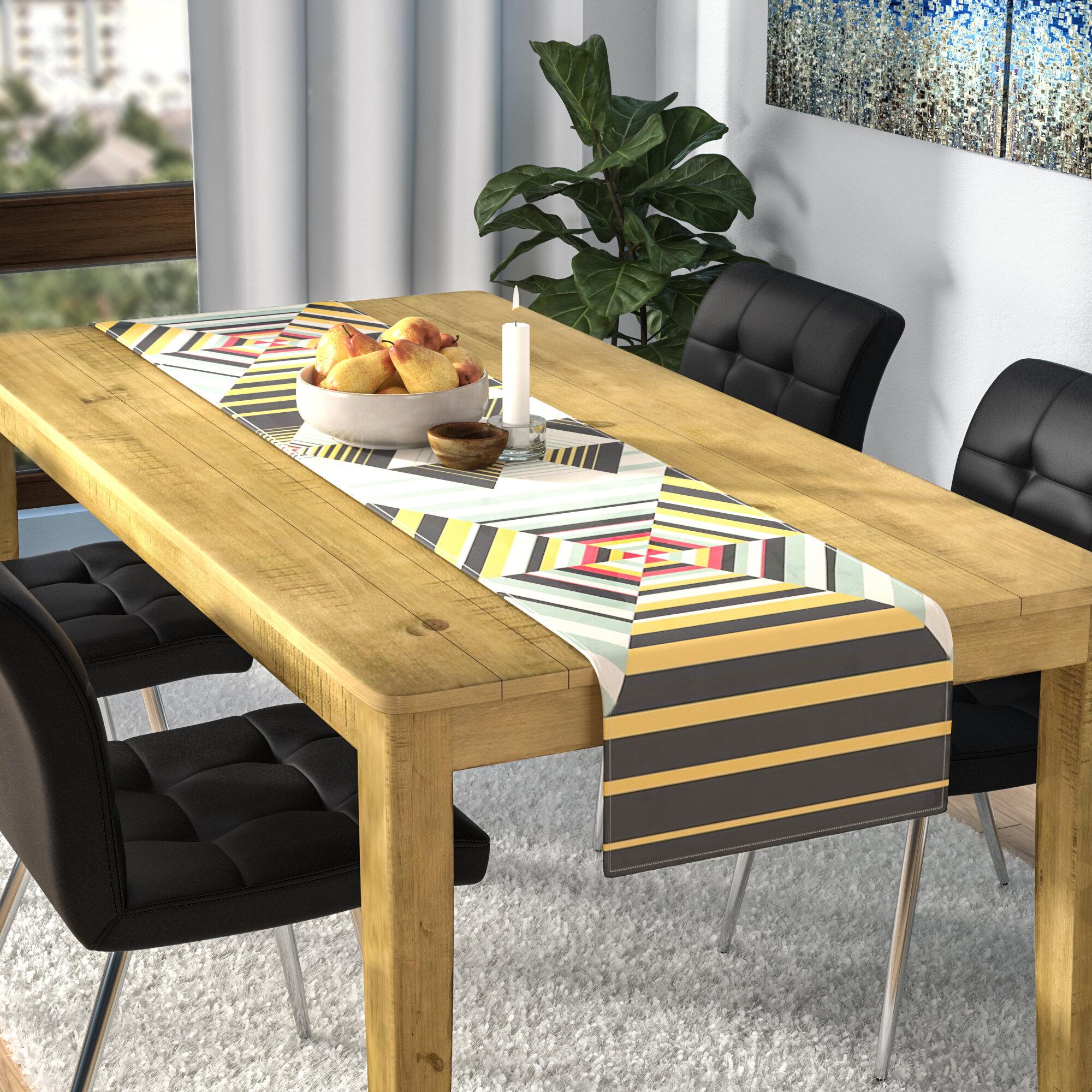 East urban home danny ivan la plus table runner reviews wayfair