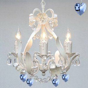 Bowtell Flower 4-Light Candle-Style Chandelier