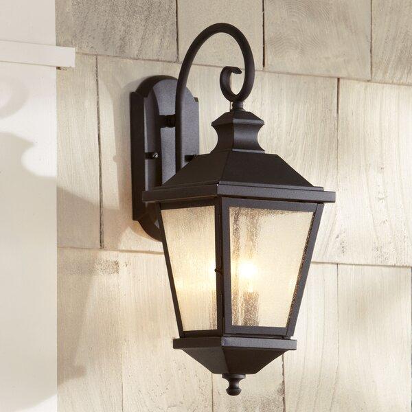 Birch Lane Heritage Hillside 2 Light Outdoor Wall Lantern Reviews