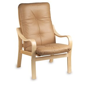 Omega Natural Leather Chair by Holsag