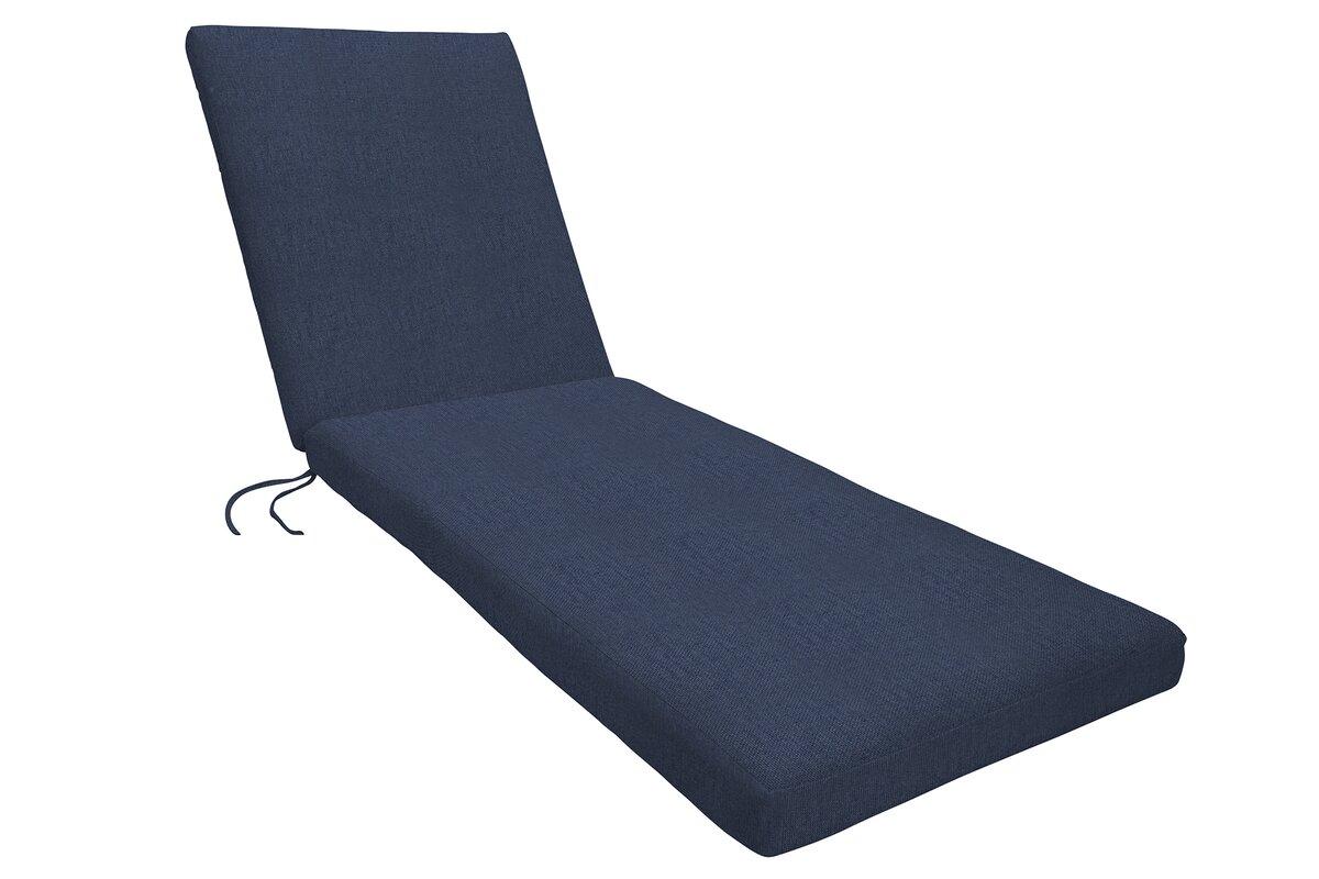 Sunbrella Chaise Lounge Cushion  sc 1 st  Birch Lane : sunbrella chaise cushions - Sectionals, Sofas & Couches